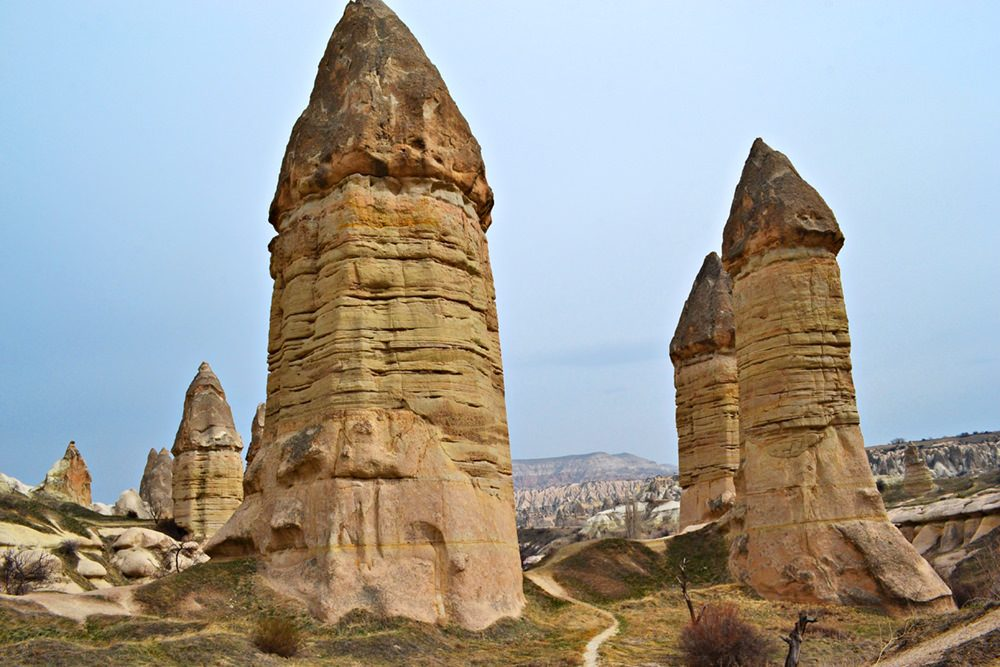 Turkey Cappadocia fairy chimneys