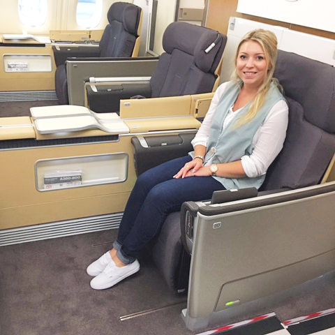testing first class seats