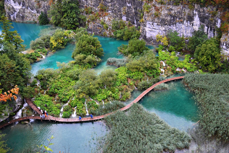 Croatia Plitvice-Lakes